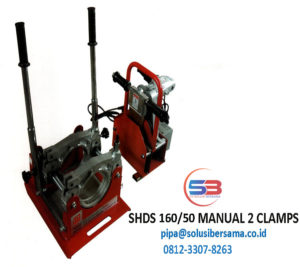SHDS 160 2 CLAMPS https://www.hargapipaair.com/mesinlashdpe